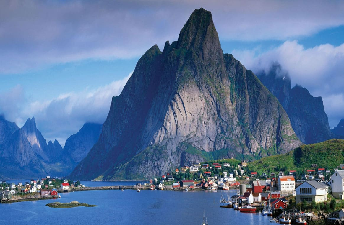 Bergen la porte d'entrée des fjords de Norvège