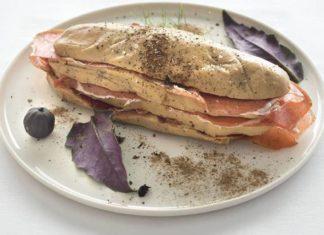 Sylvain SENDRA Terrine de foie gras
