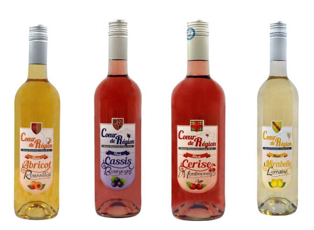Les boissons aromatisées à base de vin au goût régional !
