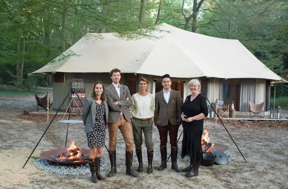 Les dîners du Aberlour Hunting Club campent au Domaine national de ...