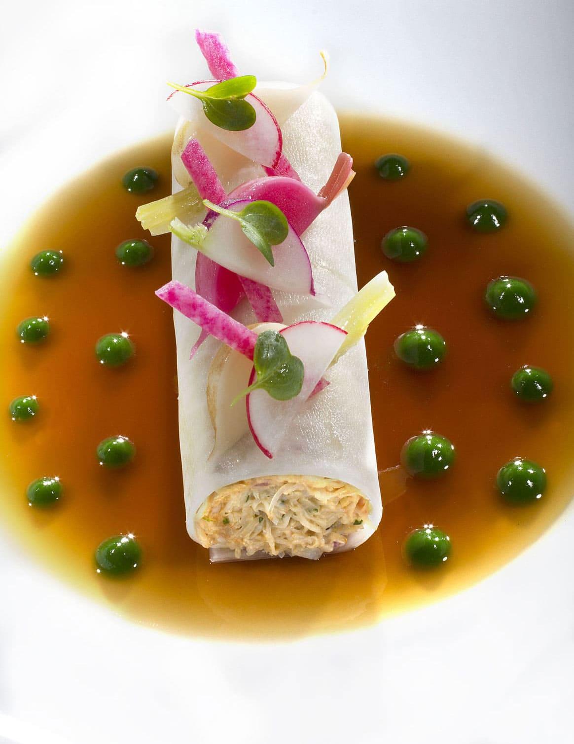 Thierry MARX : Cannelloni végétale de tourteau