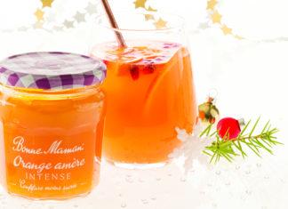 Orange Intense & sa bouchée gourmande
