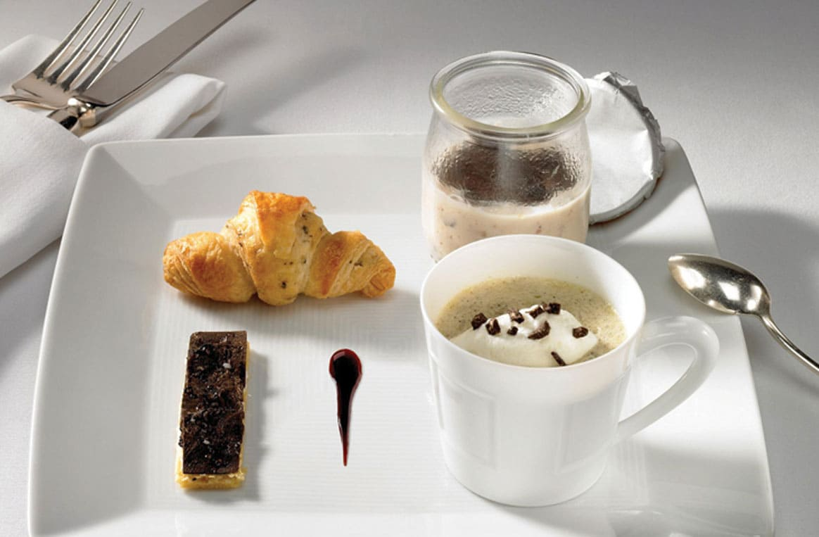 Michel SARRAN : Truffe du Périgord en petit-déjeuner