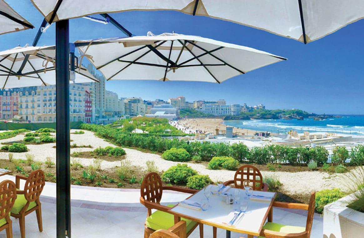 Le Jardin De L Ocean La Nouvelle Terrasse De L Hotel Du