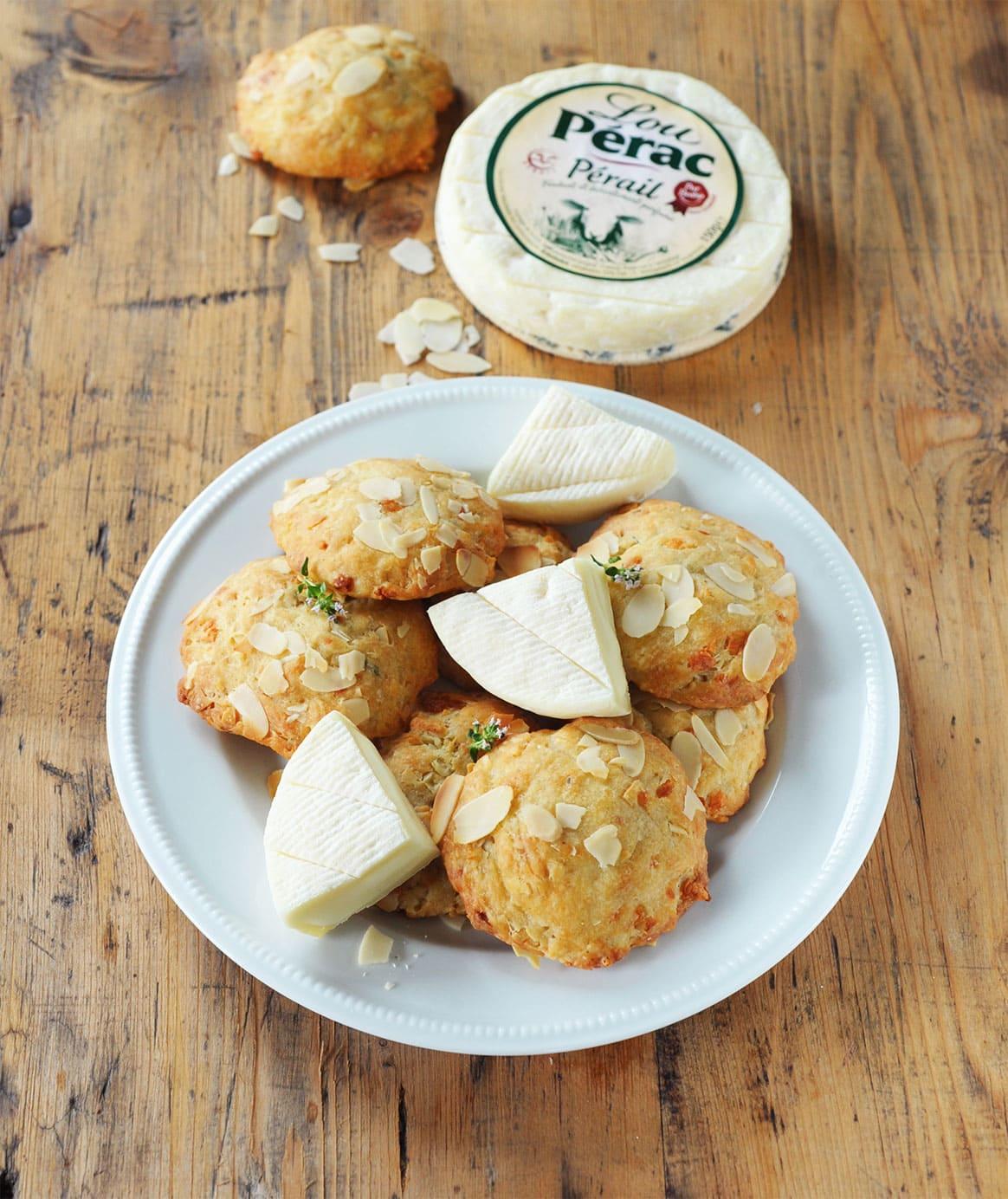 Cookies au Pérail Lou Pérac au thym et aux amandes