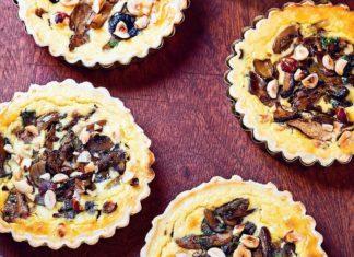 Tartelettes champignons & noisettes