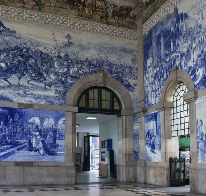 Porto entre vignes et océan Atlantique