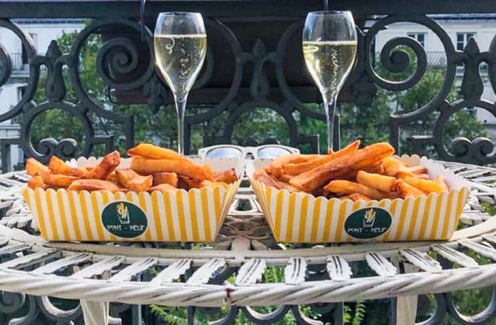 Champagne-frites, le meilleur after work du moment !