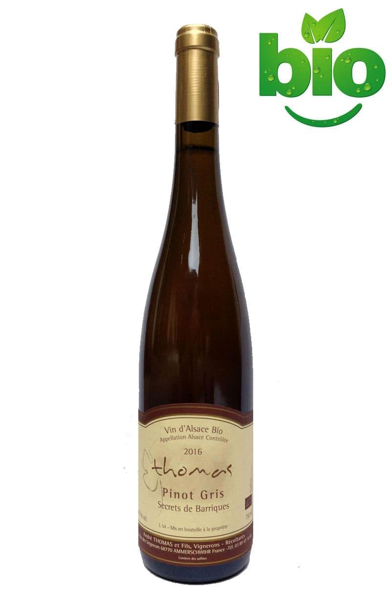 Domaine André THOMAS & Fils • Pinot Gris • Secrets de Barriques 2016