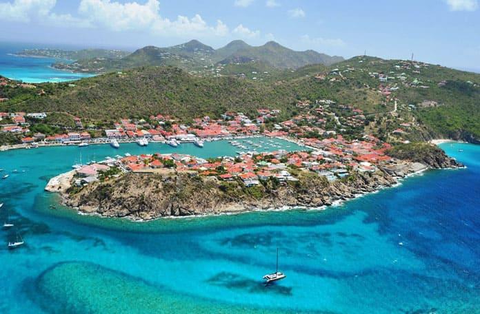 Lézarder sur les plages de Saint-Barth, dans les Caraïbes