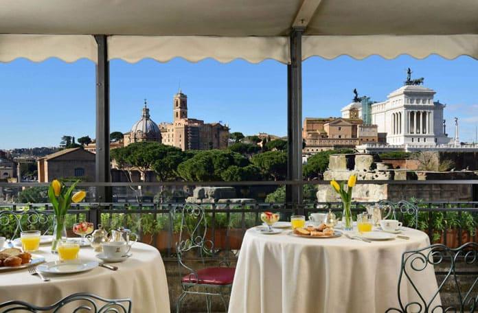 Week-end à Rome : nos 5 tables avec vue sur la Ville Eternelle
