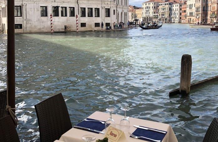 Des tables au goût de Venise