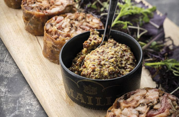 Maille, des recettes apéritives festives en format restauration