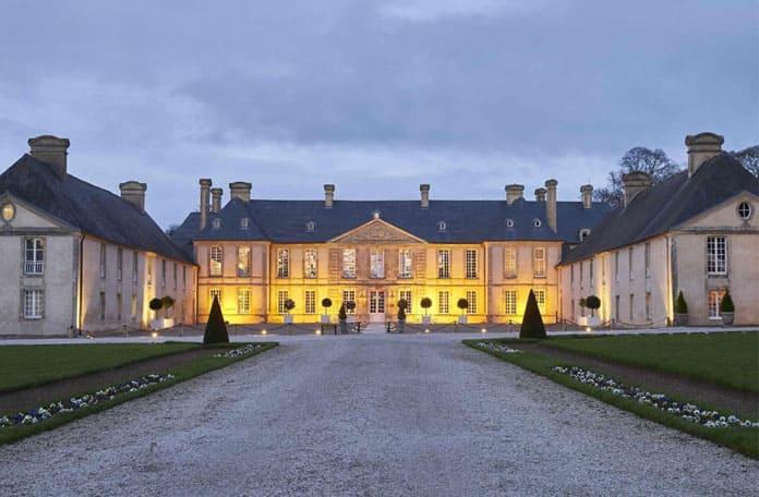 Château d'Audrieu, avec Olivier Barbarin