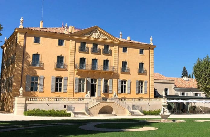 Château de Fonscolombe, avec Romain Franceschi