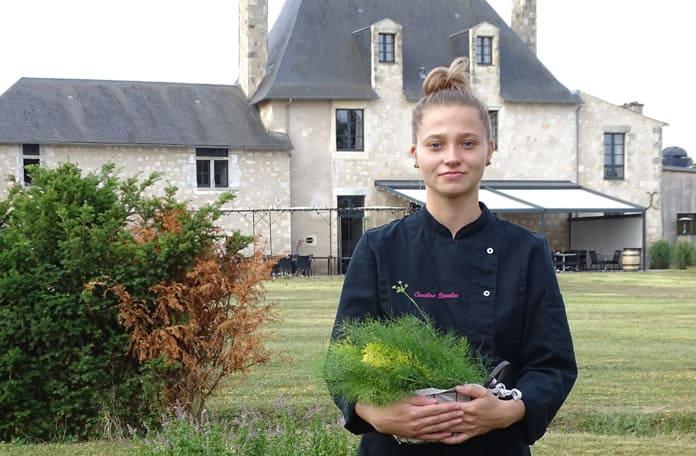 Domaine du Normandoux, avec Caroline Chevalier
