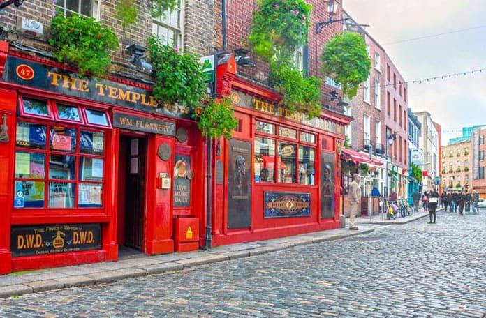 Un bol d'Eire à Dublin