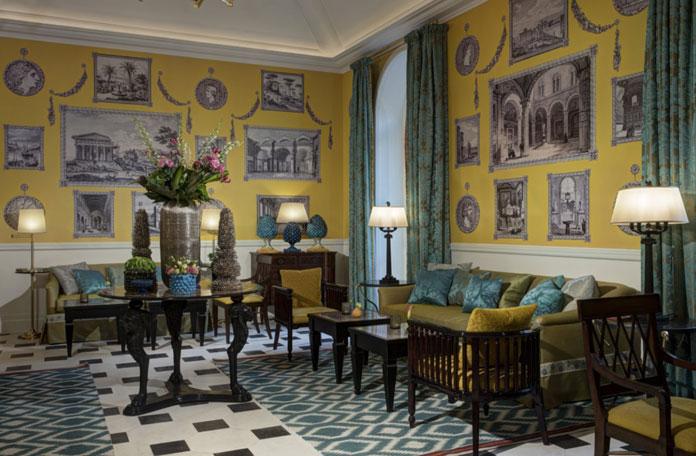 Hôtel de la ville, le nouveau palace du groupe Rocco Forte, à Rome